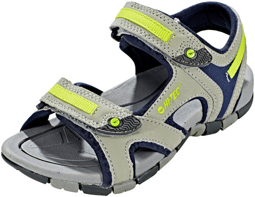 Hi-Tec GT Strap Sandals Kids cool grey/curacou blue/papaya punch UK J9 PNZxDm0S